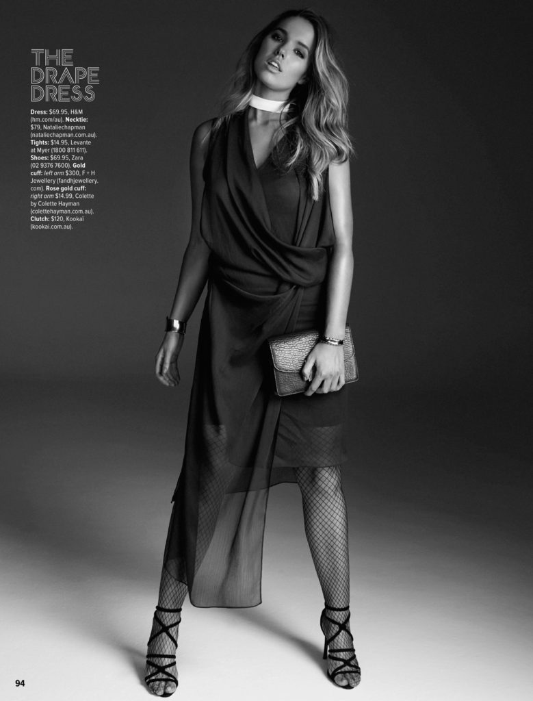bree warren editorial cosmopolitan magazine charlotte backlunch australia model