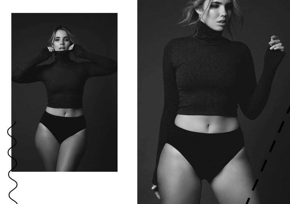 bree warren andres de lara model editorial curves