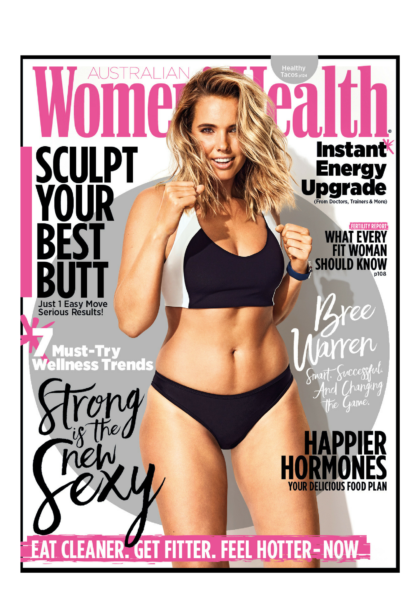 Bree Warren Bree Mccann Womens Health Cover