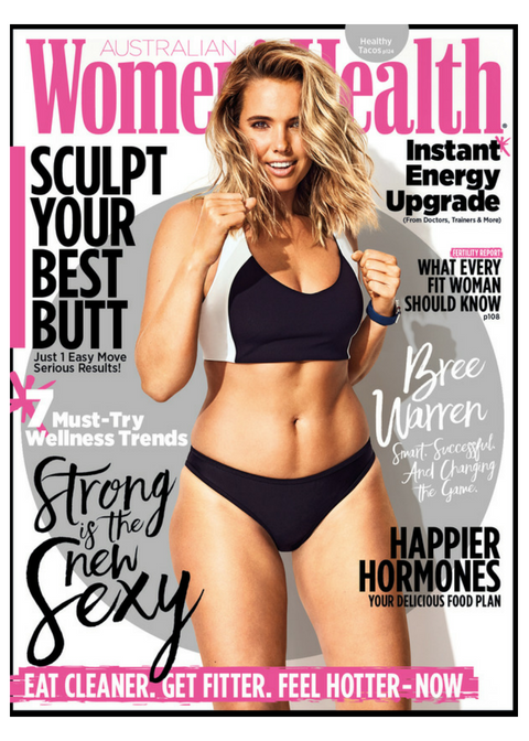 Bree McCann Womens Health Cover
