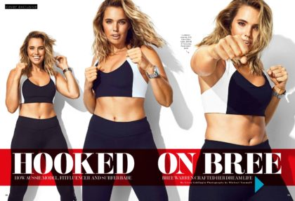 Bree Warren Womens Health Cover