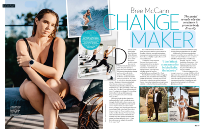 Bree McCann Who Magazine